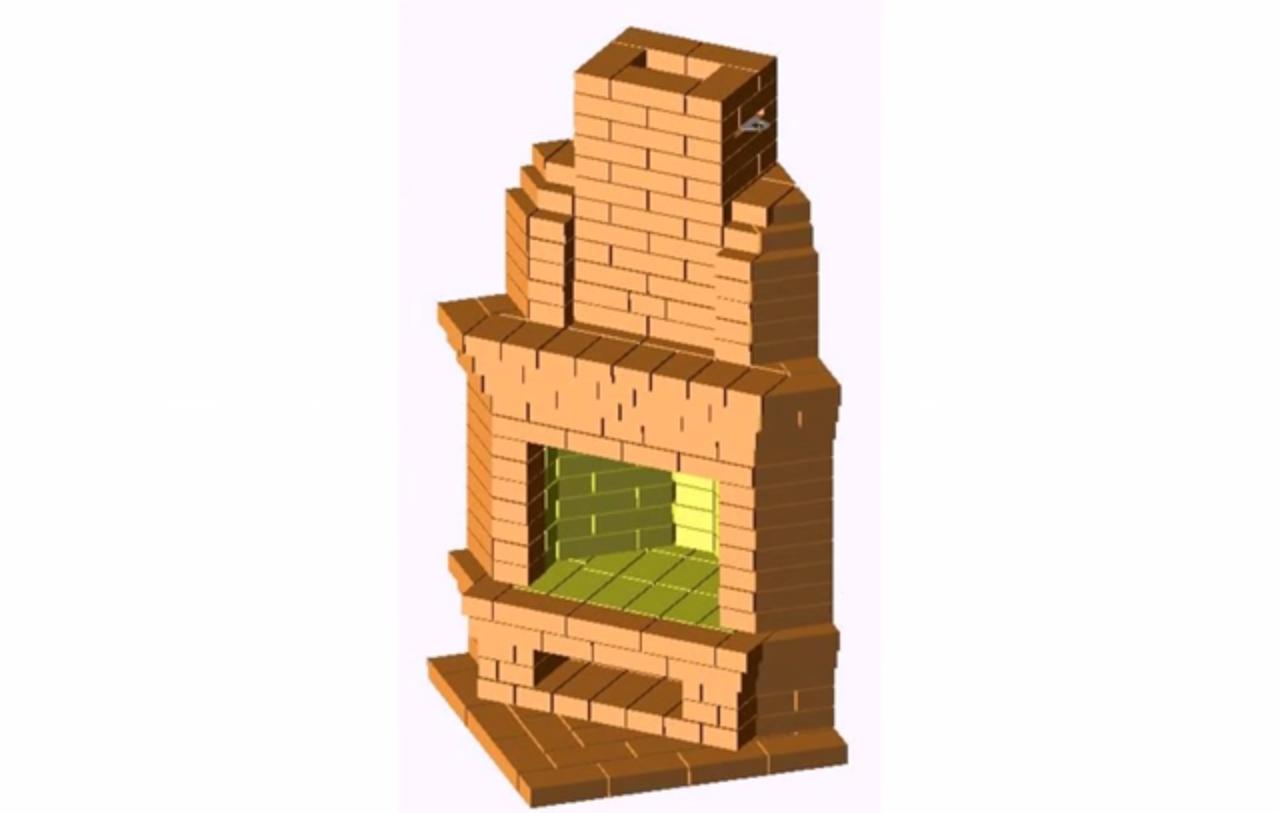 Угловой камин своими руками проекты